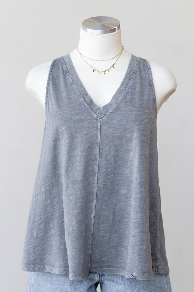 Love On The Line Sleeveless Top by For Good