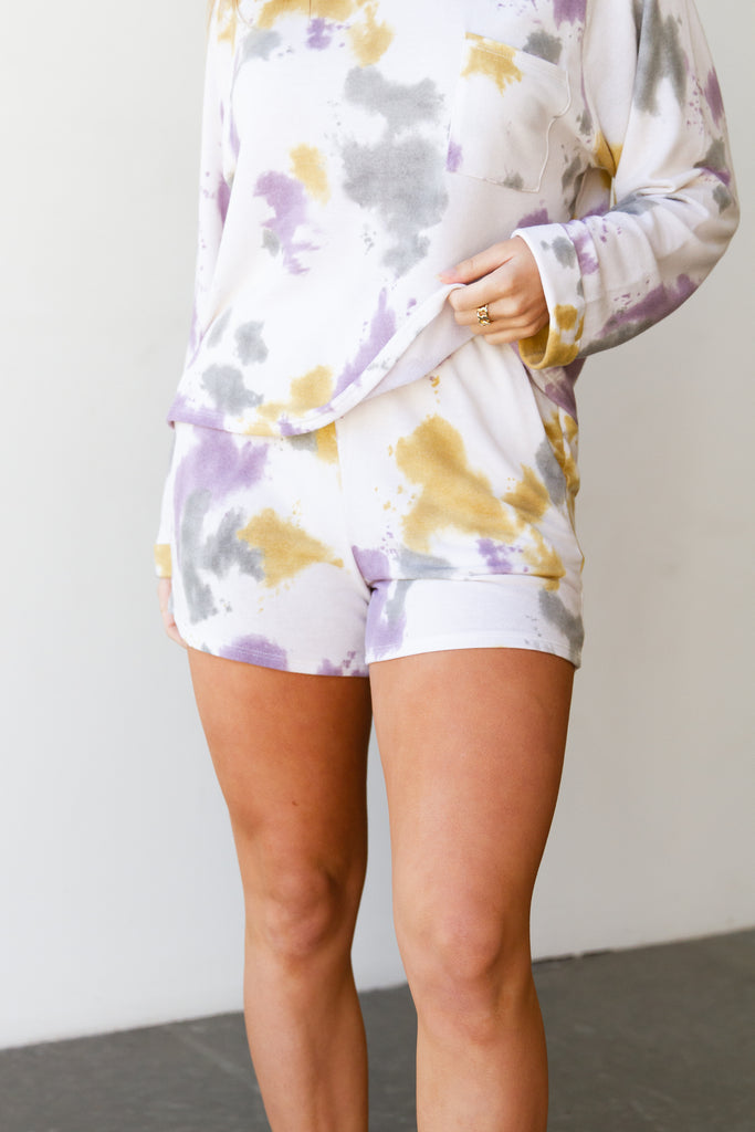 Yours Forever Tie Dye Shorts