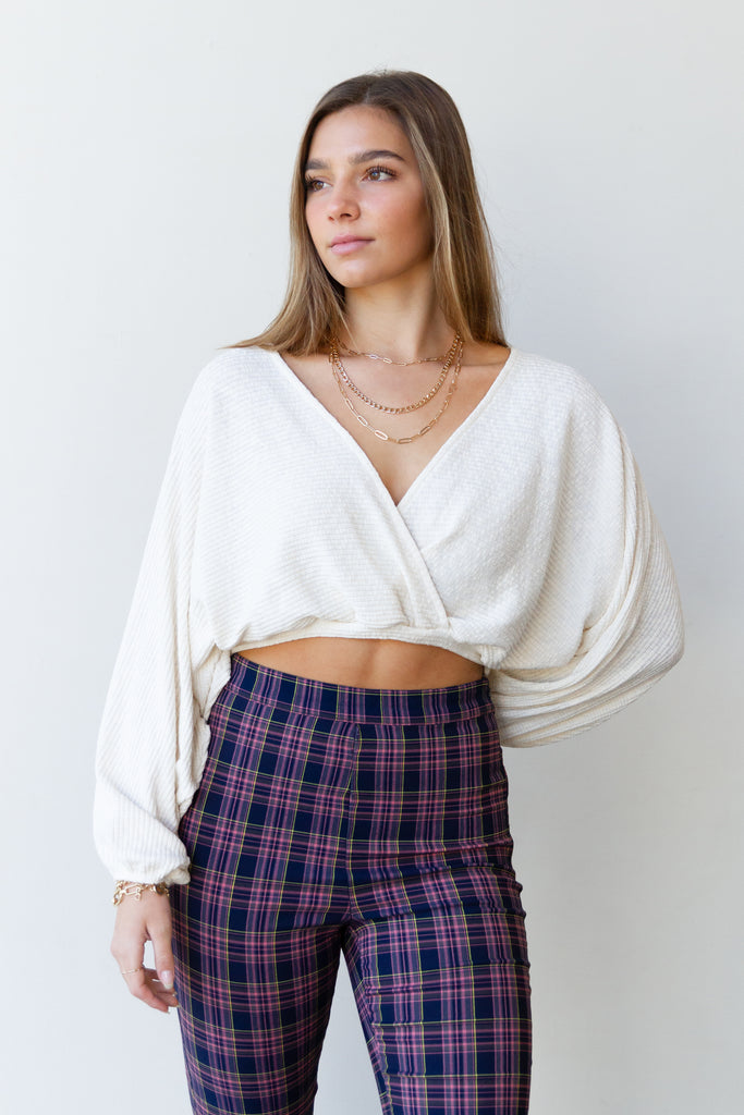 Like That Surplice Top
