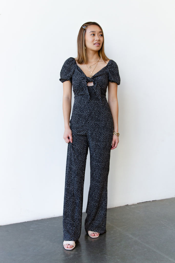 American Beauty Short Sleeve Jumpsuit