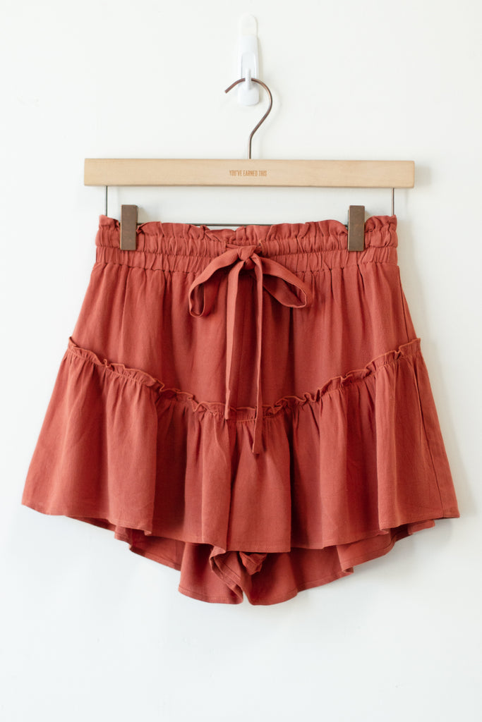 Adventure Begins Flowy Shorts