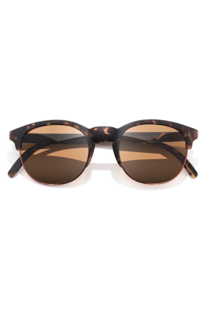 Avila Tortoise Amber Sunglasses by Sunski