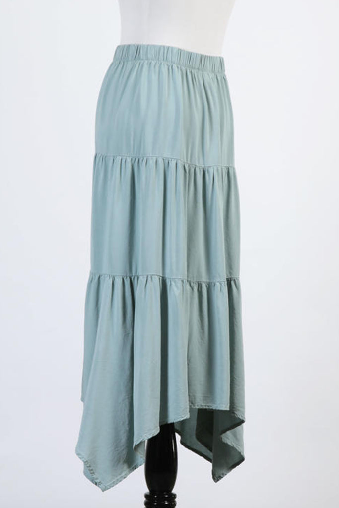 Roll With It Ruffle Maxi Skirt
