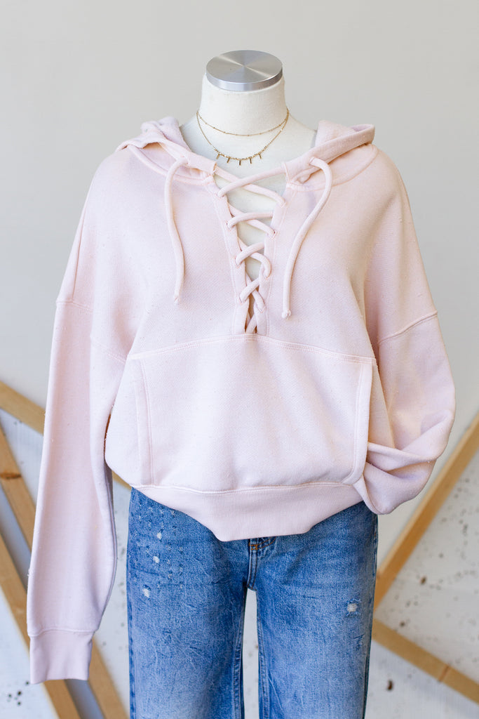 Nude Hooded Sweater