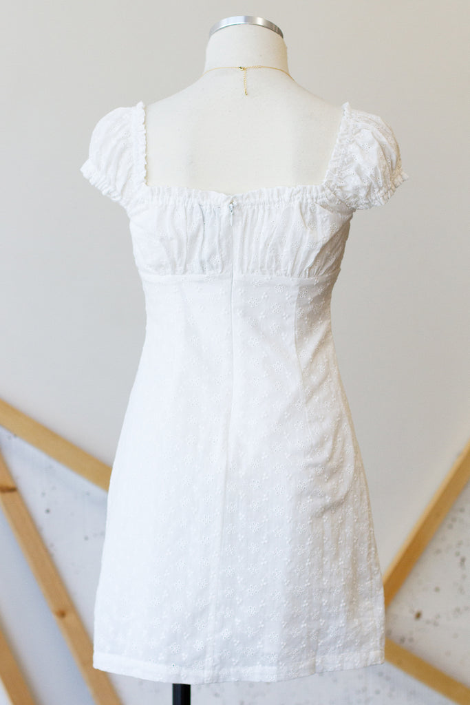 Tell You Everything Eyelet Dress