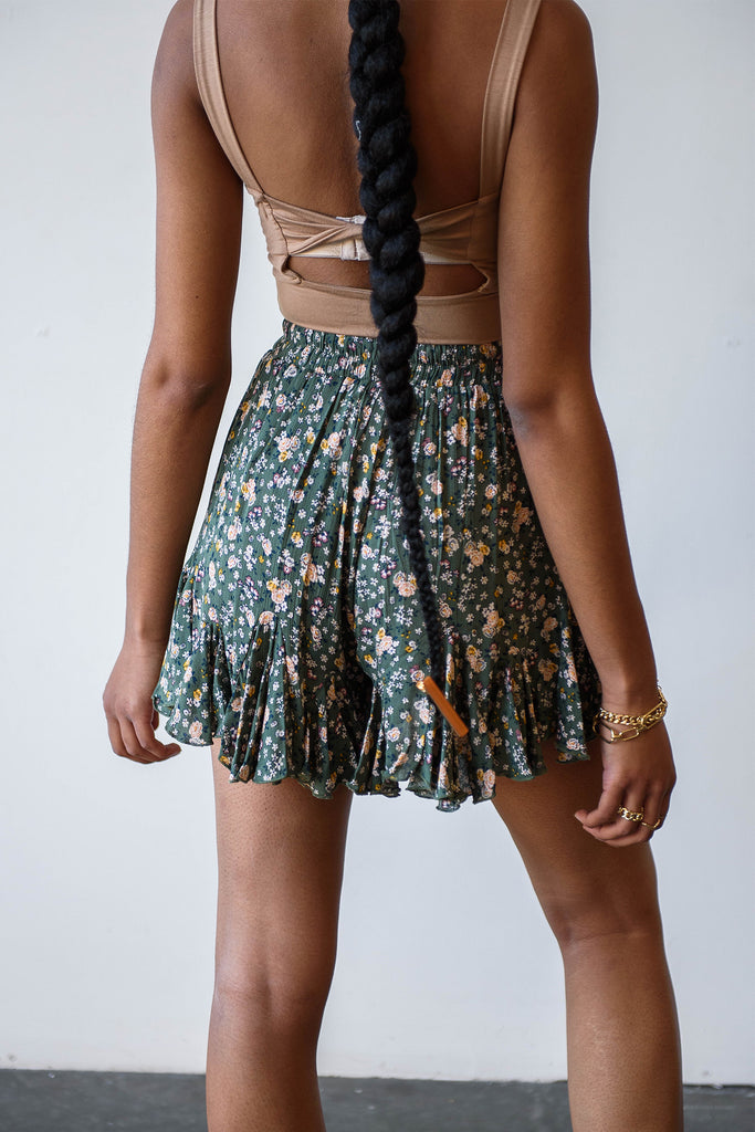 See Me Floral Shorts By For Good