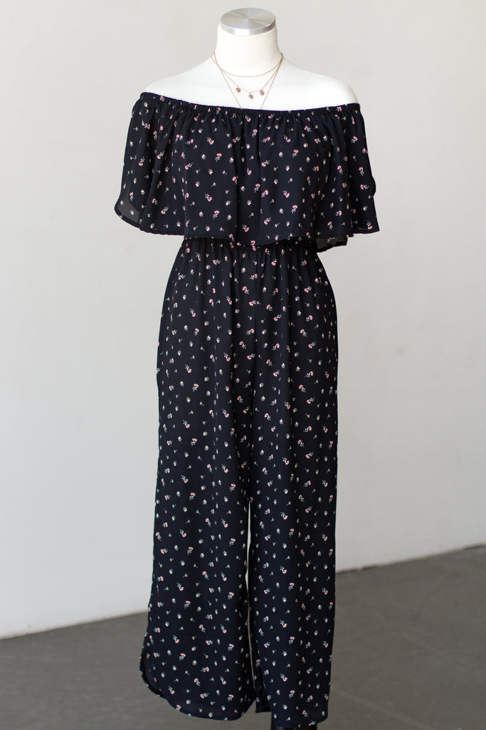 Never The Same Floral Jumpsuit