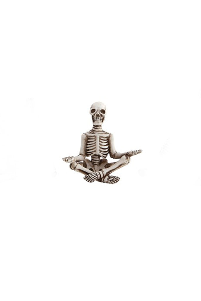 Yoga Skeleton Ornaments by For Good