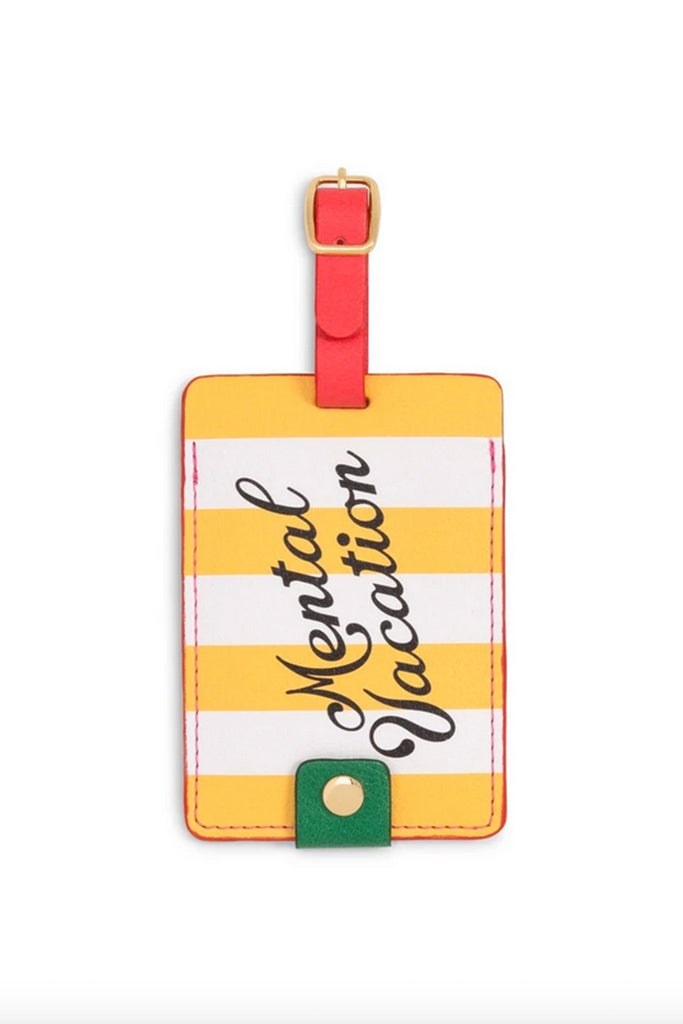 Mental Vacation Luggage Tag by ban.do