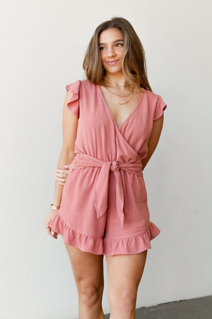 Never Before Sleeveless Romper