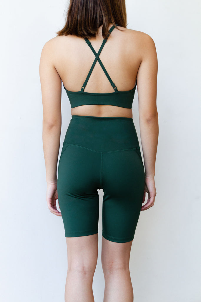 High Rise Biker Shorts By Girlfriend Collective
