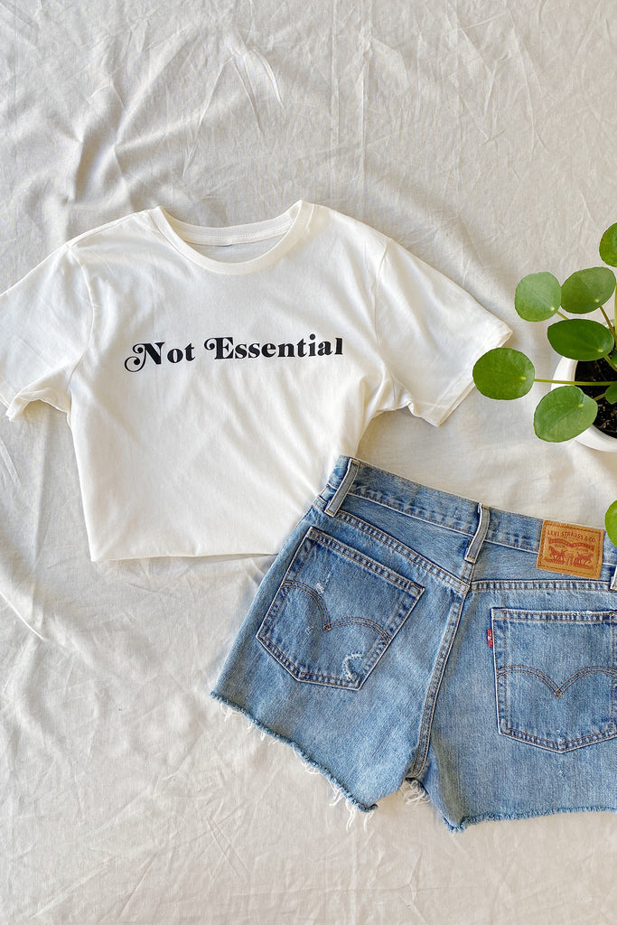 The Not Essential Graphic Tee