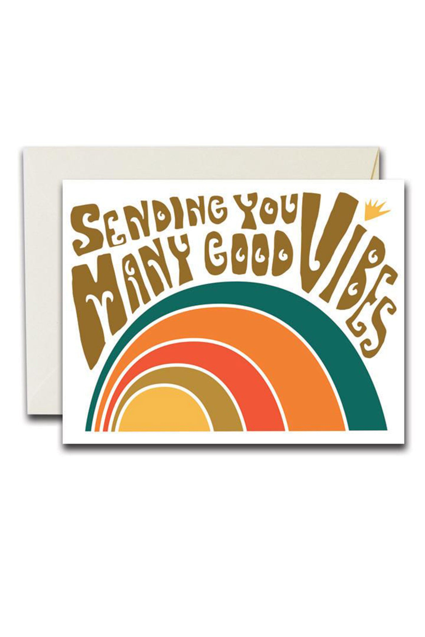 Many Good Vibes Card by Native Bear