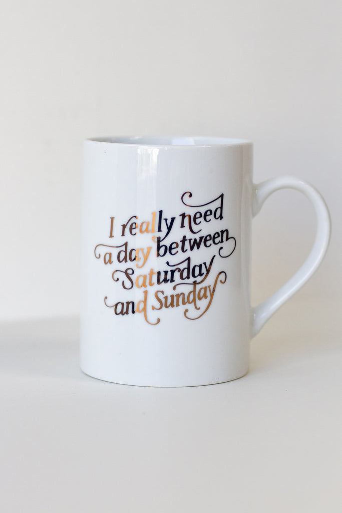 Saturday & Sunday Mug