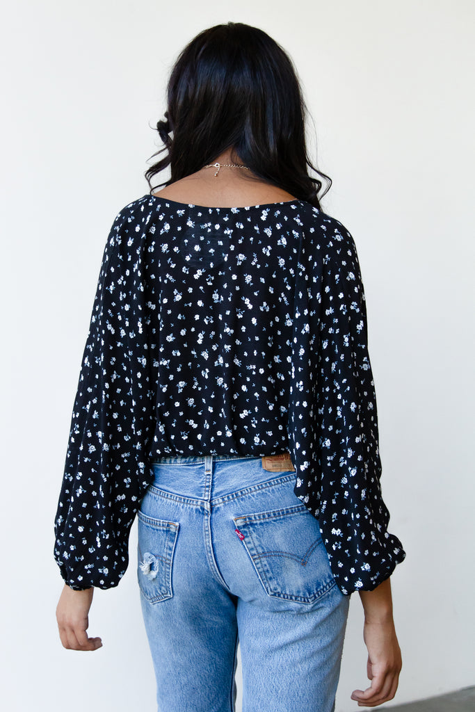 Fall Days Floral Top