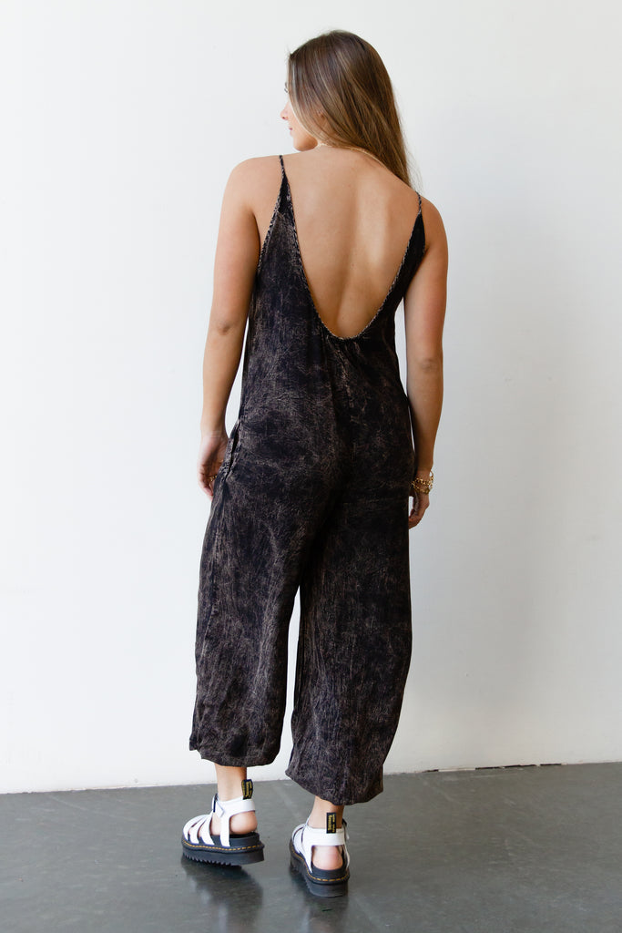 Move Mineral Washed Jumpsuit