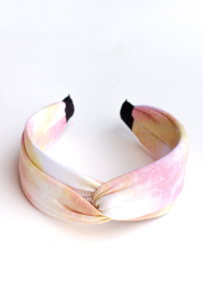 In The Clouds Tie-Dye Headband