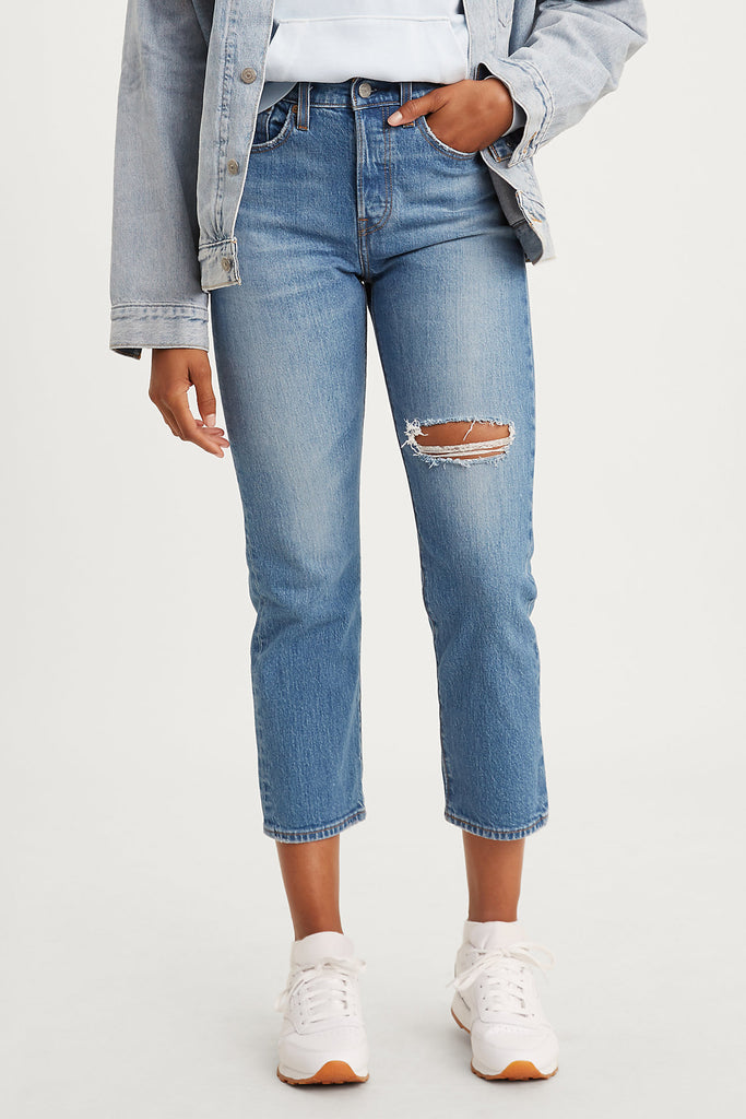 Wedgie Straight Jeans by Levi's