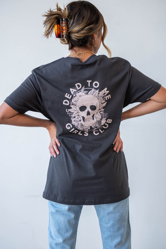 Dead To Me Girls Club Graphic Tee By For Good