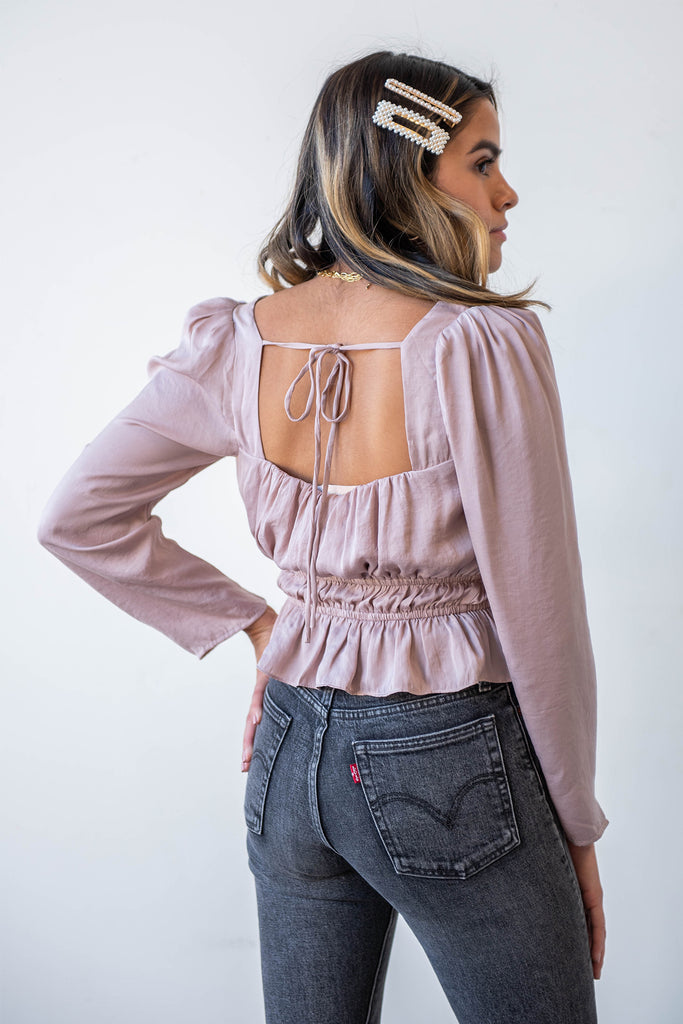 Check Twice Ruffled Top By For Good