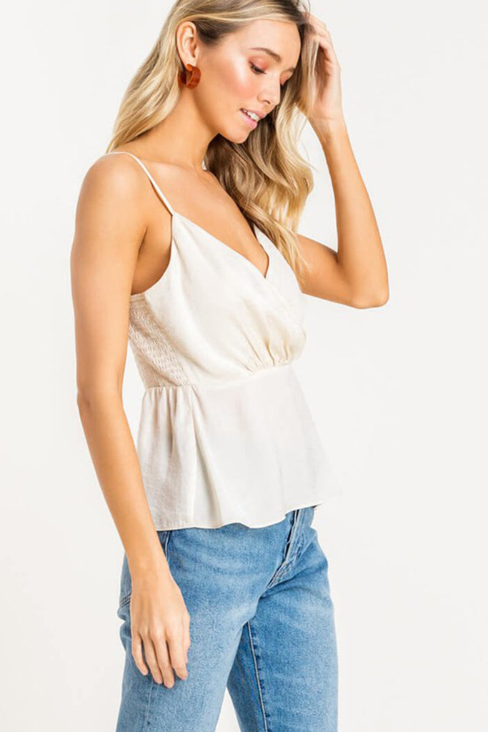 Champagne Cami Top
