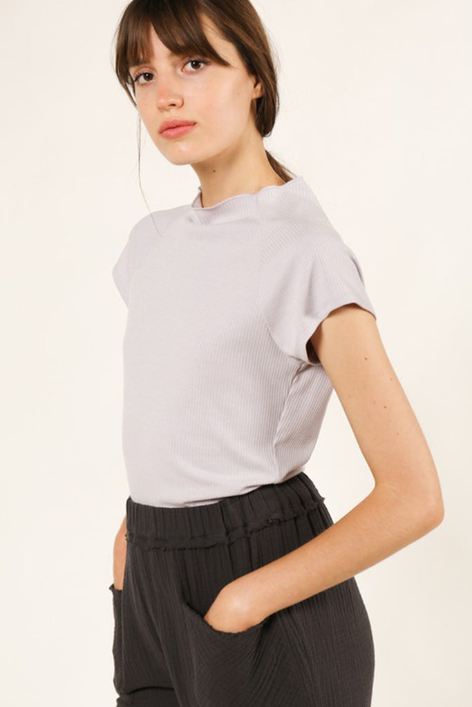 Loved You First Mock Neck Top by For Good