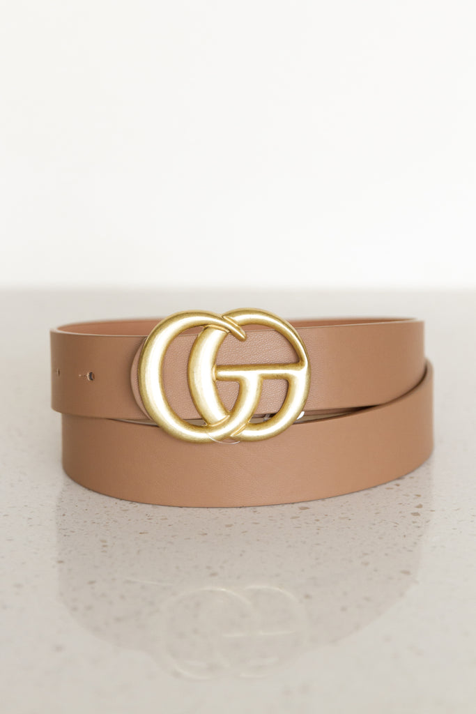 Crazy Love Faux Leather Belt