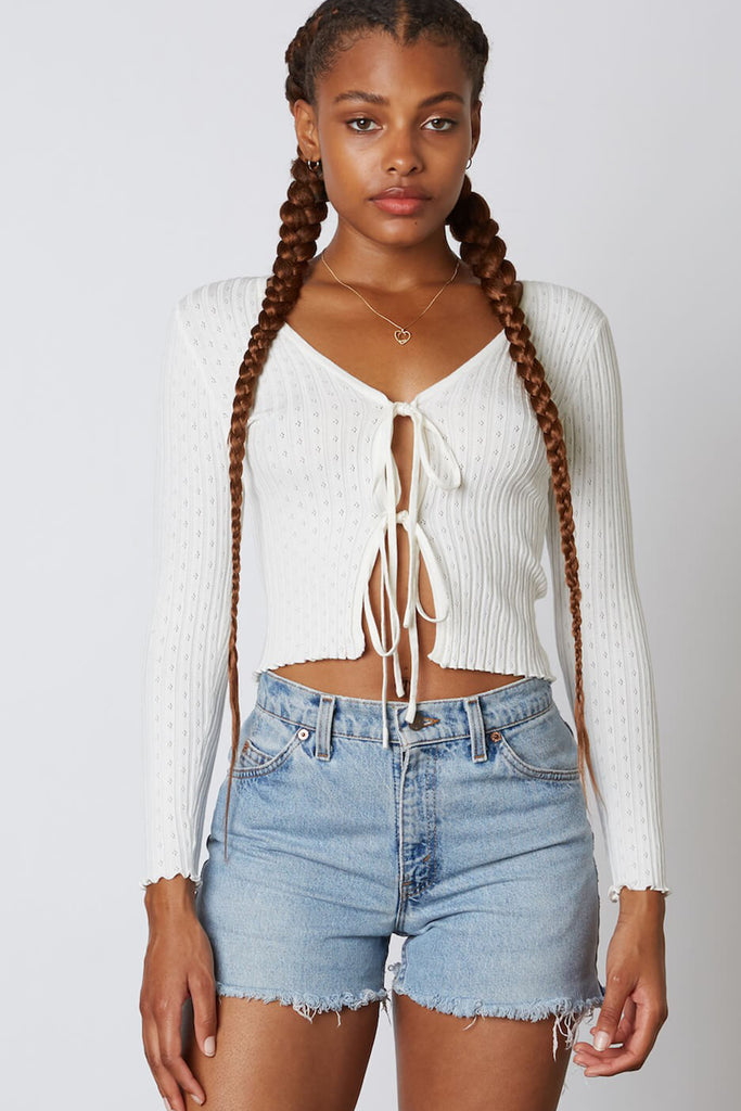 The Wild Front Tie Top