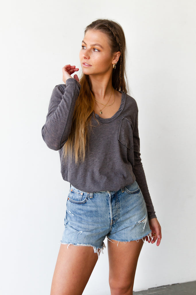 Better Together Long Sleeve Top By Free People