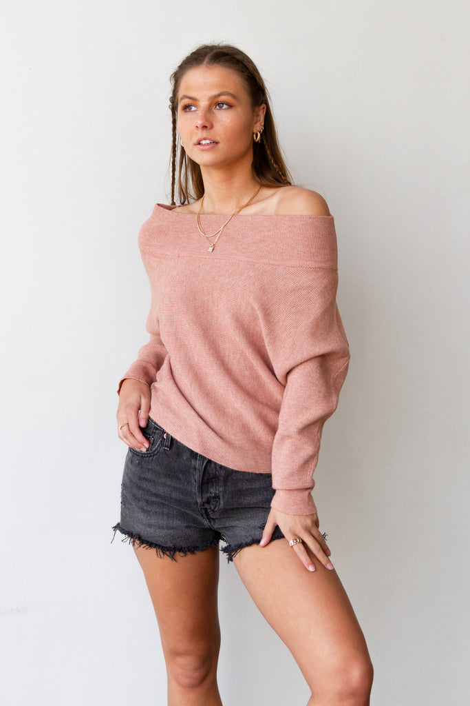 Terracotta OTS Sweater