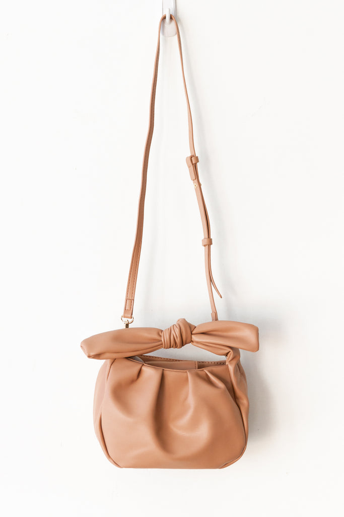sand leather purse