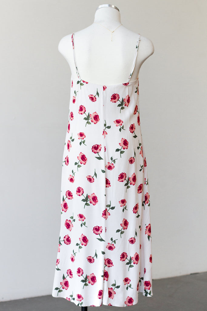 Just Us Floral Midi Dress