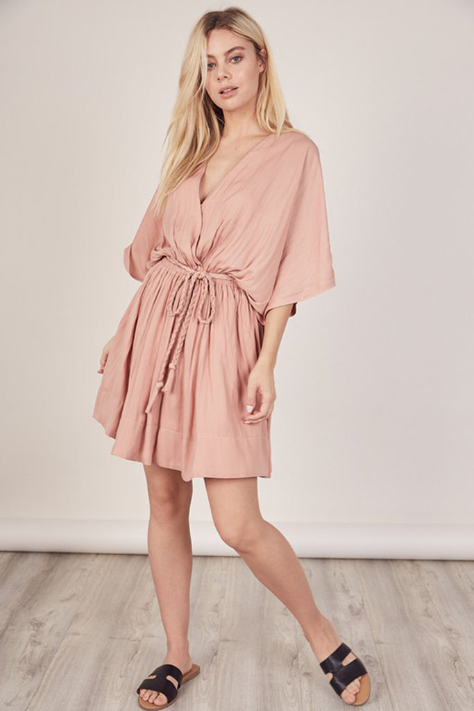 All We Want Kimono Dress by For Good