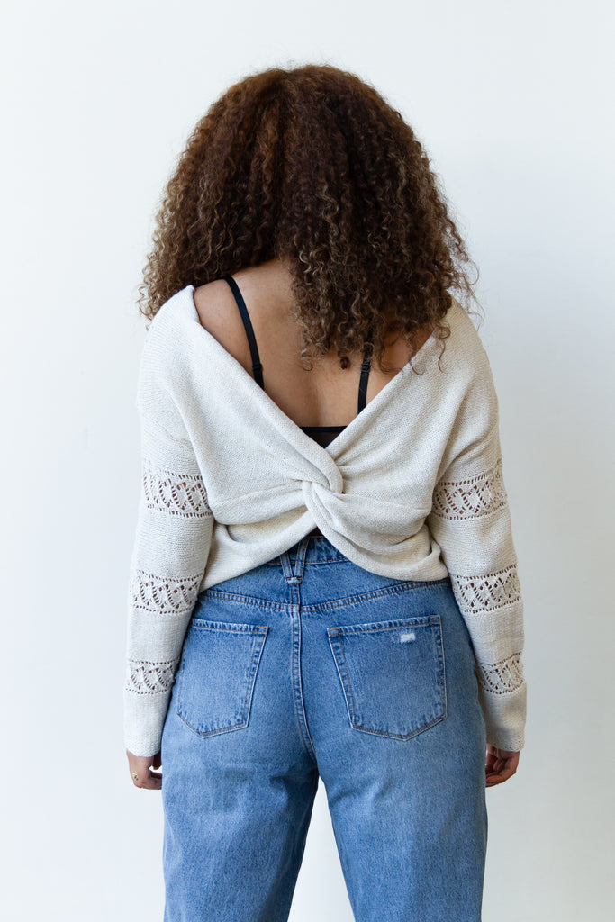 New Girl Knit Sweater