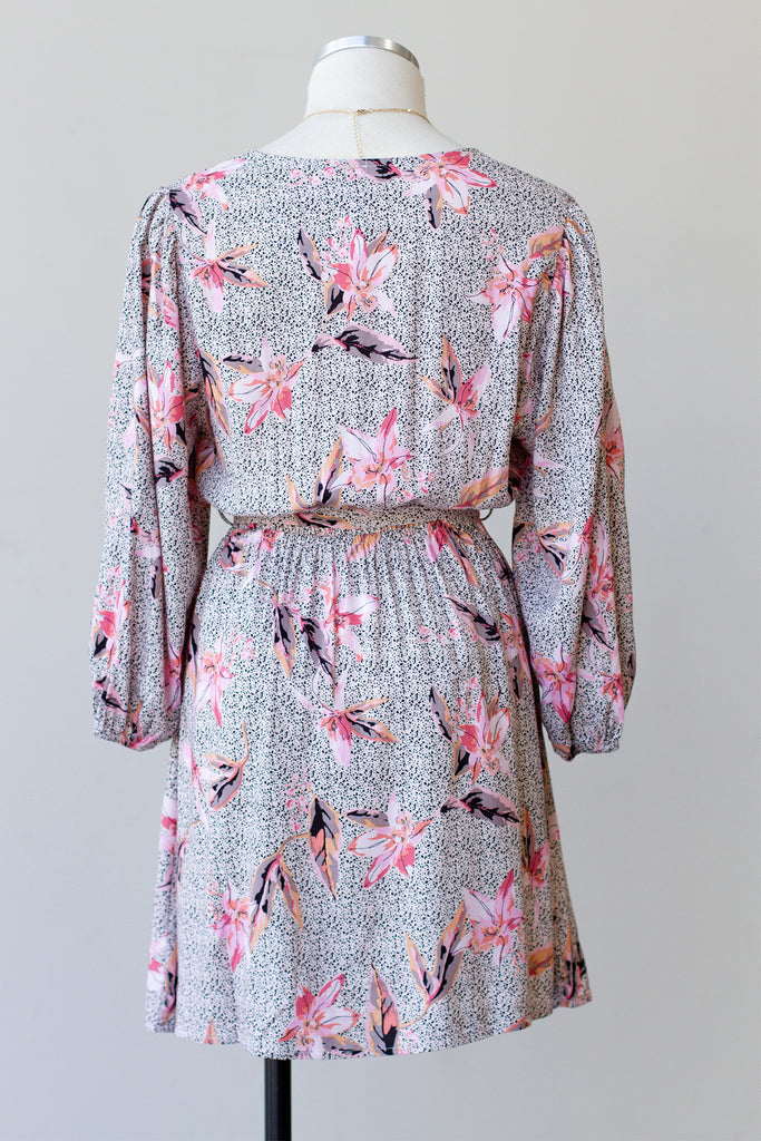 Living The Dream Long Sleeve Floral Dress by For Good