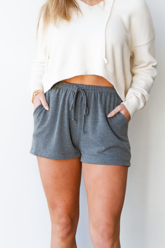 Live Here Fabric Shorts