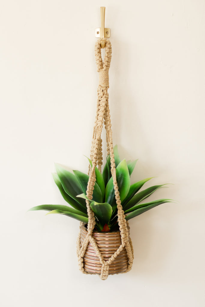 Macrame Plant Hanger by For Good