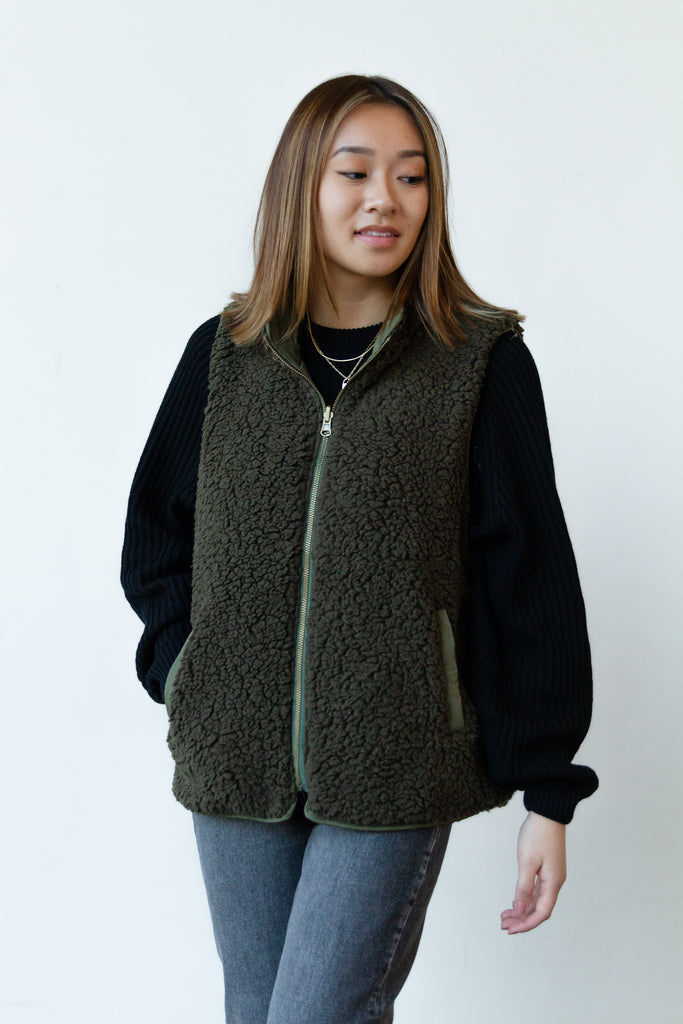 Changes Sherpa Vest By For Good