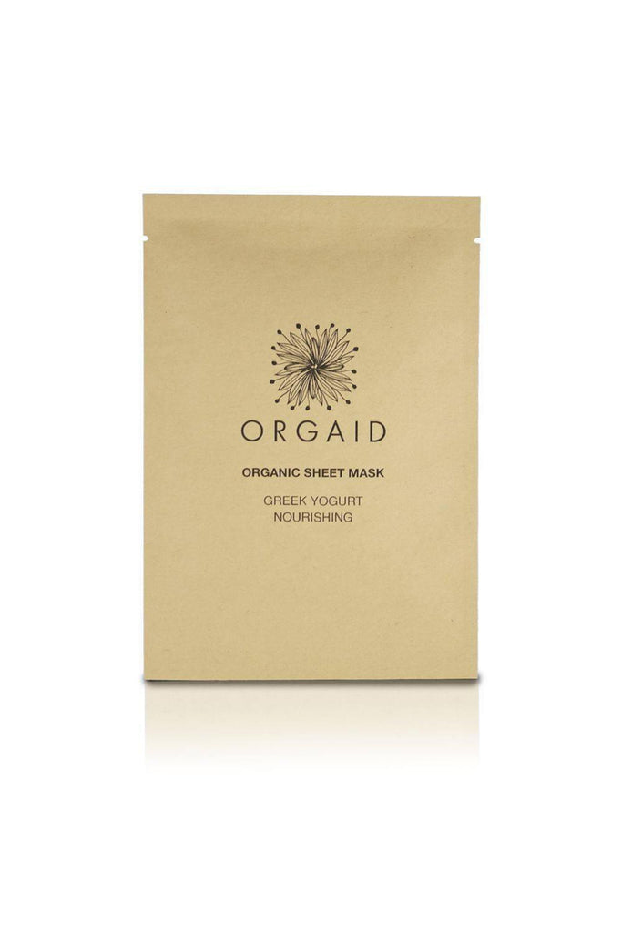 Greek Yogurt & Nourishing Face Mask by Orgaid