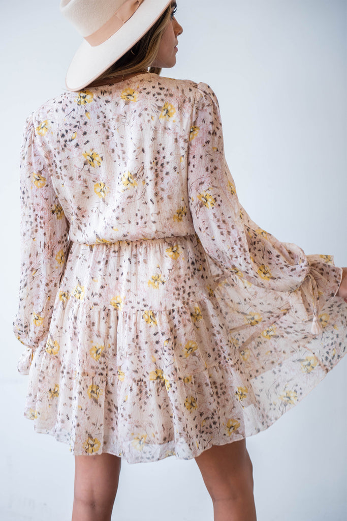Be Honest Floral Dress By For Good