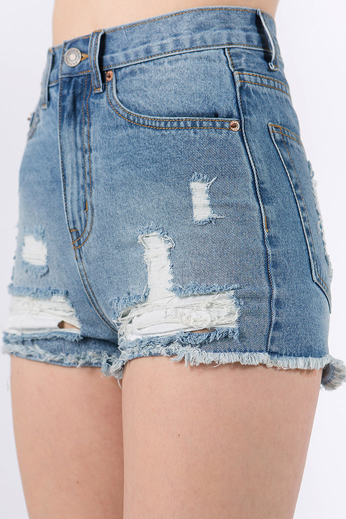 Think About You Denim Shorts