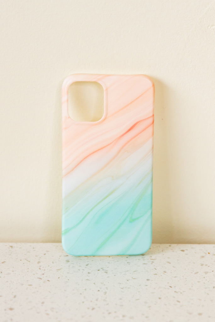 orange/green phone case