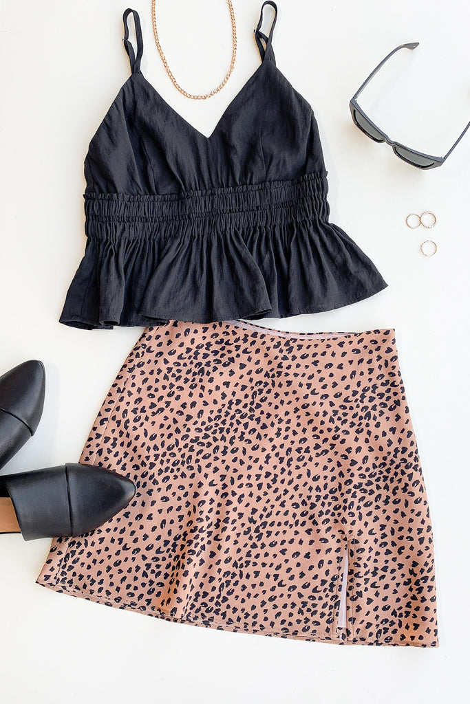 This Is Amazing Animal Print Skirt