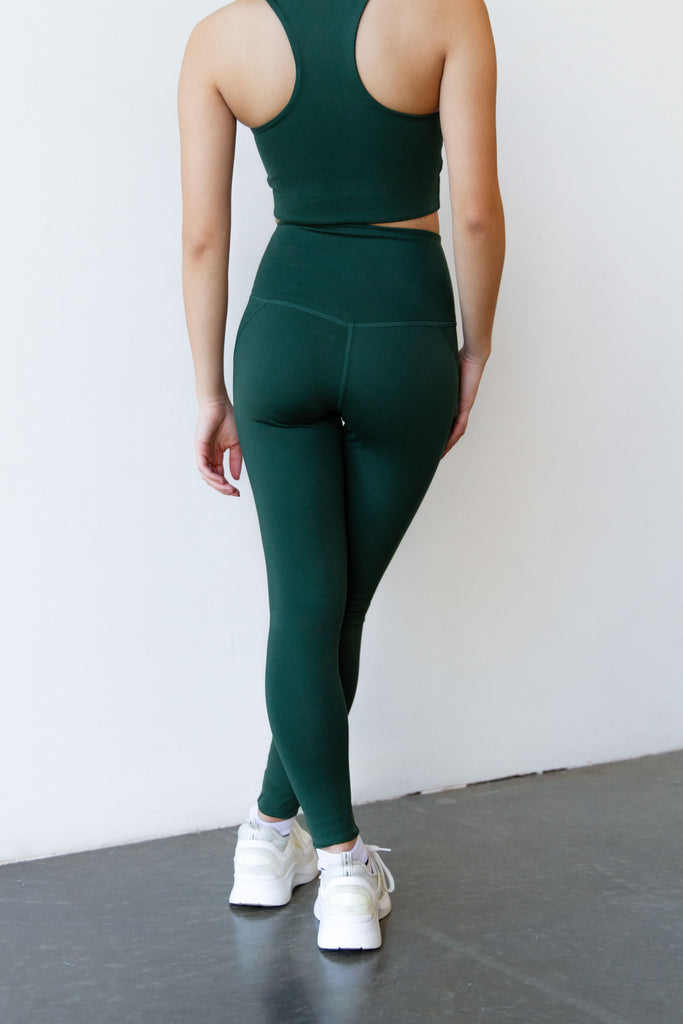 moss legging with pockets