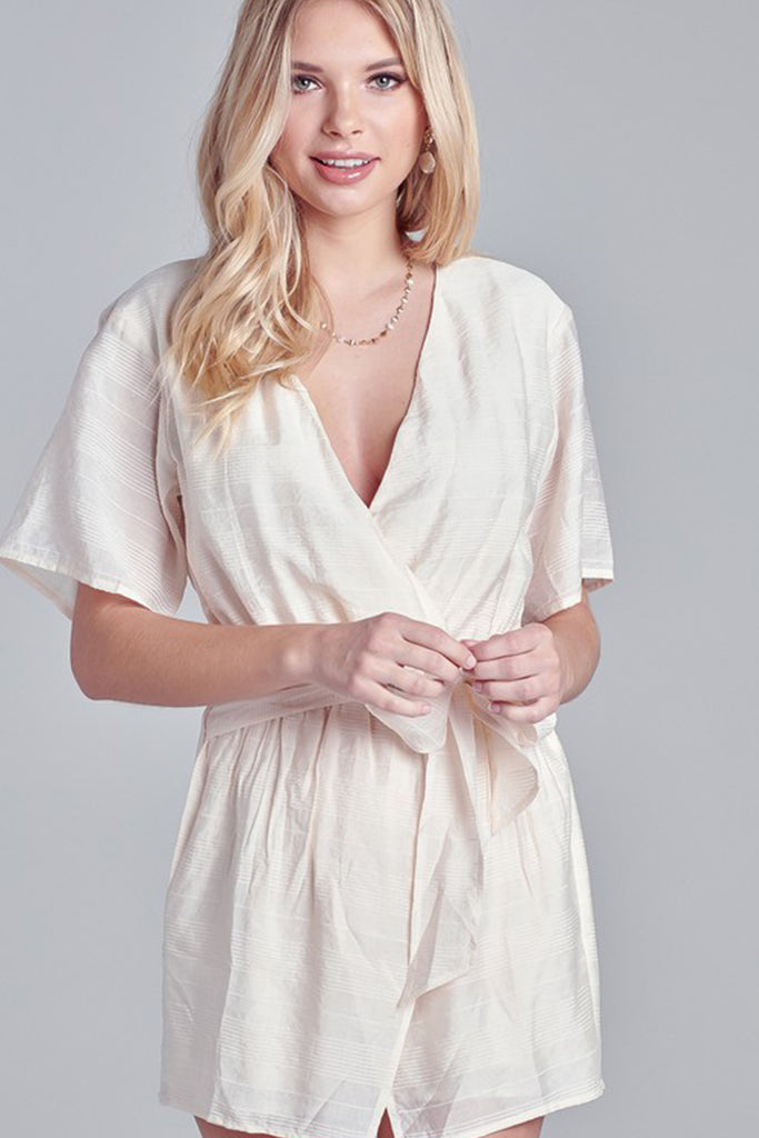 Can't Stop Me Short Sleeve Romper