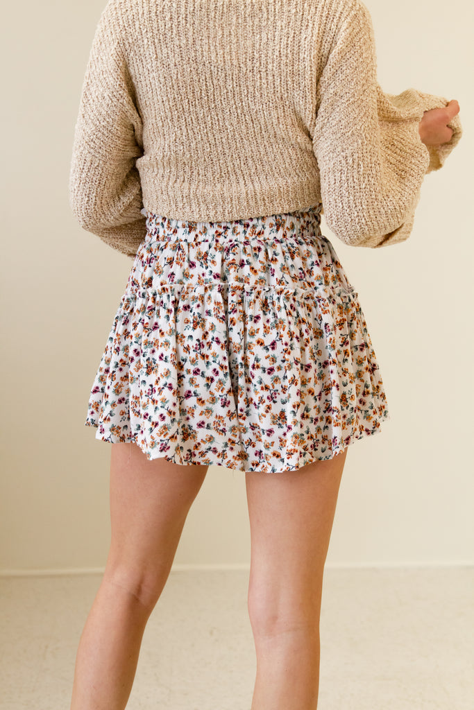 Slow Down Floral Shorts