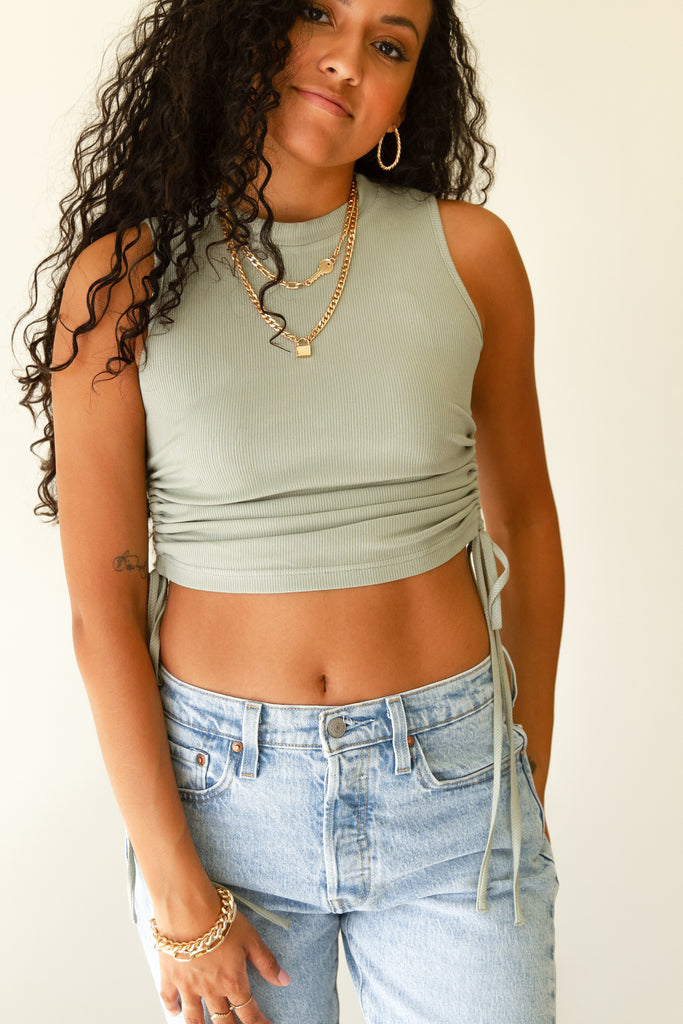 Hold Back Crop Top