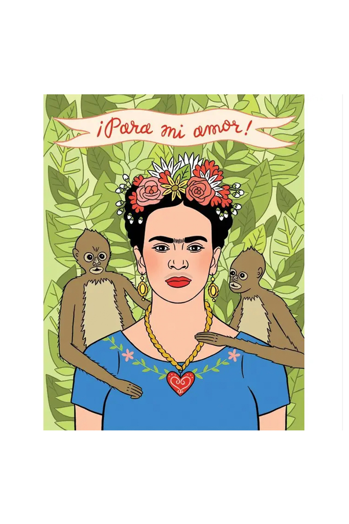 Para Mi Amor Frida Greeting Card By The Found