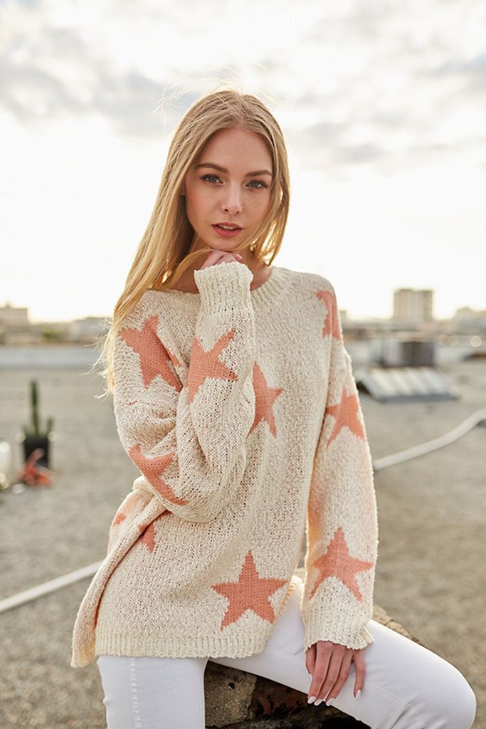 Under The Stars Knit Sweater