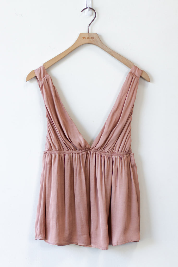 Just Breathe Babydoll Tank